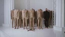 abakanowicz rzeźby tłumy crowd